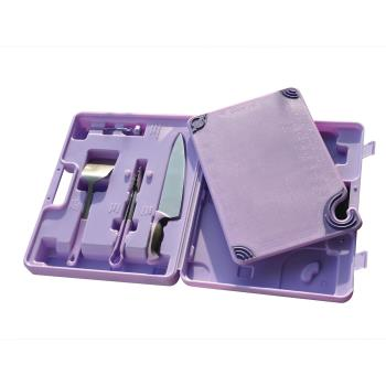 86133 - San Jamar - ASZ121812SYS - Saf-T-Zone™ Purple Allergen System Product Image