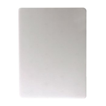 SANCB12181WH - San Jamar - CB12181WH - 12 in x 18 in White Cutting Board Product Image