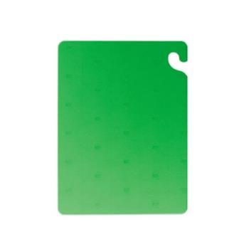 SANCB121834GN - San Jamar - CB121834GN - Cut-N-Carry 12 in (W) x 18 in (L) x 3/4 in (H) Green Cutting Board Product Image