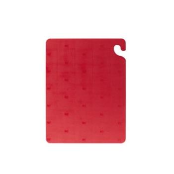 SANCB121834RD - San Jamar - CB121834RD - Cut-N-Carry Red Cutting Board Product Image