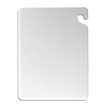 SANCB182412WH - San Jamar - CB182412WH - 18 in x 24 in White Cut-N-Carry Cutting Board Product Image