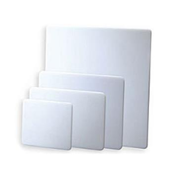 SANCB18241WH - San Jamar - CB18241WH - Kolor-Cut 18 in (W) x 24 in (L) x 1 in (H) White Cutting Board Product Image