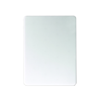 SANCB6912WH - San Jamar - CB6912WH - 6 in x 9 in White Cutting Board Product Image