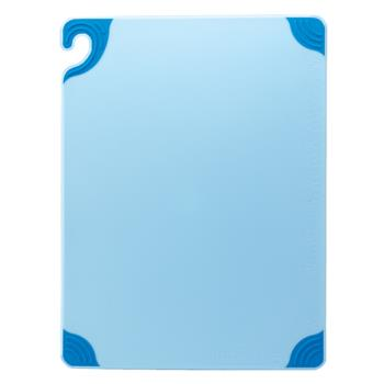 SANCBG121812BL - San Jamar - CBG121812BL - Saf-T-Grip Blue Cutting Board Product Image