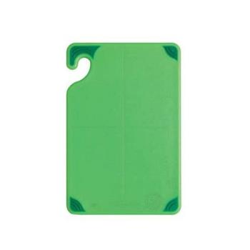 SANCBG121812GN - San Jamar - CBG121812GN - Saf-T-Grip 12 in (W) x 18 in (L) x 1/2 in (H) Green Cutting Board Product Image