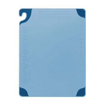 86118 - San Jamar - CBG182412BL - 18 in x 24 in x 1/2 in Blue Cutting Board Product Image