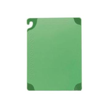 86109 - San Jamar - CBG182412GN - 18 in x 24 in x 1/2 in Green Cutting Board Product Image