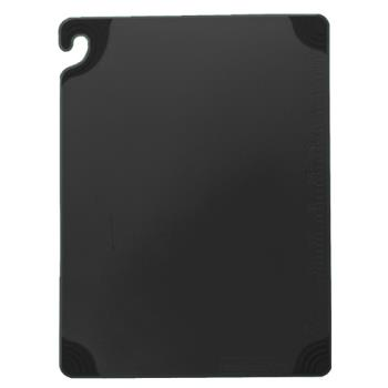 76507 - San Jamar - CBG6938BK - 6 in x 9 in x 3/8 in Black Cutting Board Product Image