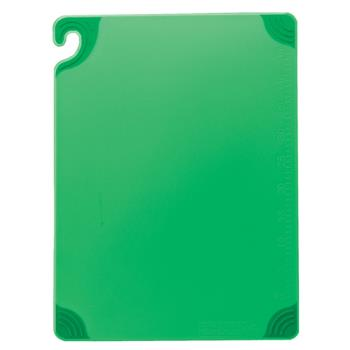 86138 - San Jamar - CBG6938GN - 6 in x 9 in x 3/8 in Green Cutting Board Product Image