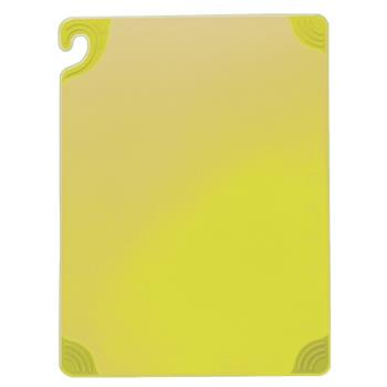SANCBG6938YL - San Jamar - CBG6938YL - 6 in x 9 in x 3/8 in Yellow Cutting Board Product Image