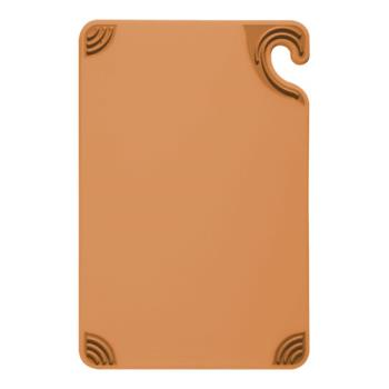 86080 - San Jamar - CBG912BR - 9 in x 12 in x 3/8 in Brown Cutting Board   Product Image