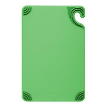 86077 - San Jamar - CBG912GN - 9 in x 12 in x 3/8 in Green Cutting Board   Product Image
