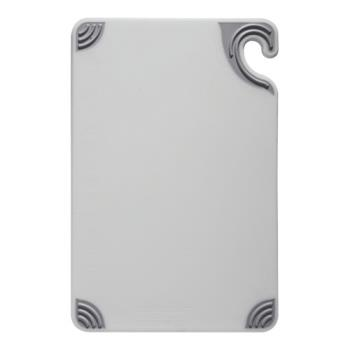 86076 - San Jamar - CBG912WH - 9 in x 12 in x 3/8 in White Cutting Board   Product Image