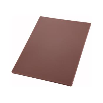 WINCBBN1218 - Winco - CBBN-1218 - 12 in x 18 in x 1/2 in Brown Cutting Board Product Image
