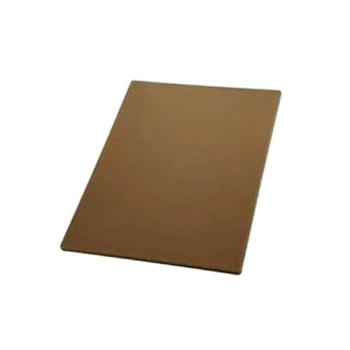 75955 - Winco - CBBN-1824 - 18 in x 24 in x 1/2 in Brown Cutting Board Product Image