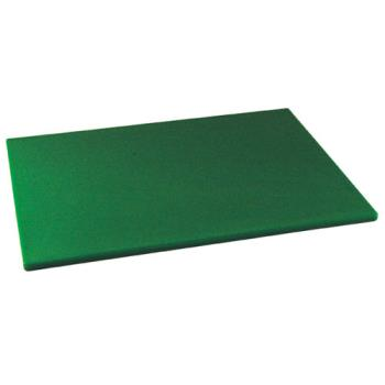 86130 - Winco - CBGR-1218 - 12 in x 18 in x 1/2 in Green Cutting Board Product Image