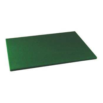 86131 - Winco - CBGR-1520 - 15 in x 20 in x 1/2 in Green Cutting Board Product Image
