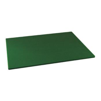 86132 - Winco - CBGR-1824 - 18 in x 24 in x 1/2 in Green Cutting Board Product Image