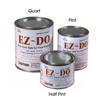 JHBEZ8C - John Boos - EZ-8C - EZ-DO Finish- (12) Half Pint Cans Product Image