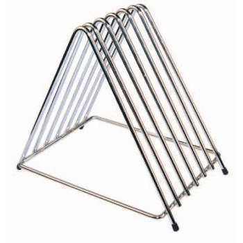 42363 - Winco - CB-6L - 6-Slot Chrome Plated Cutting Board Rack Product Image