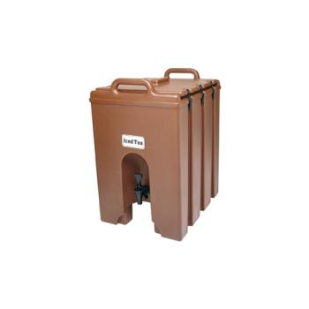 CAM1000LCD131 - Cambro - 1000LCD - Camtainer 11 3/4 gal Brown Beverage Carrier Product Image