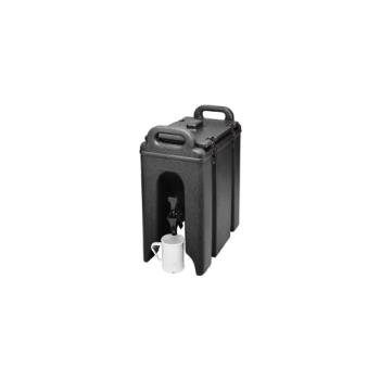 76572 - Cambro - 250LCD - Camtainer 2 1/2 gal Black Beverage Carrier Product Image