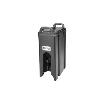 75889 - Cambro - 500LCD-110 - Camtainer 4 3/4 gal Black Beverage Carrier Product Image