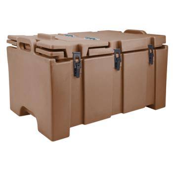 CAM100MPC131 - Cambro - 100MPC - Camcarrier Full Size 2 1/2 in Deep Brown Pan Carrier Product Image