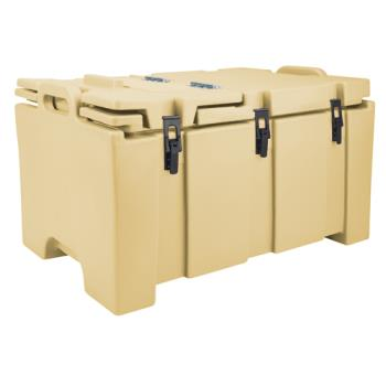CAM100MPC157 - Cambro - 100MPC157 - Camcarrier Full Size 2 1/2 in Deep Beige Pan Carrier Product Image