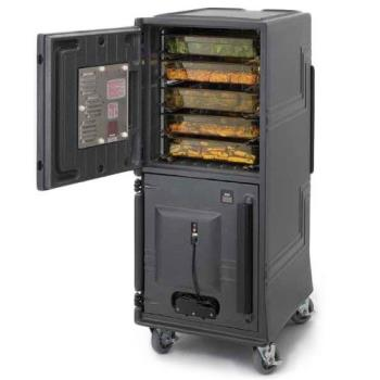 CAMCMBPHHD615 - Cambro - CMBPHHD615 - 110V Tall Insulated Electric Food Transport Cart Product Image