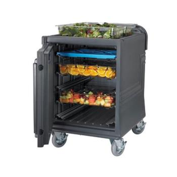 CAMCMBPLH2HD615 - Cambro - CMBPLH2HD615 - 220V Low Insulated Electric Food Transport Cart Product Image