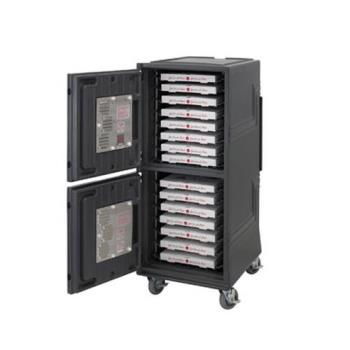 CAMCMBPTH2615 - Cambro - CMBPTH2615 - 220V Top Heated Only Insulated Food Transport Cart Product Image