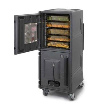 CAMCMBPTH615 - Cambro - CMBPTH615 - 110V Top Heated Only Insulated Food Transport Cart Product Image