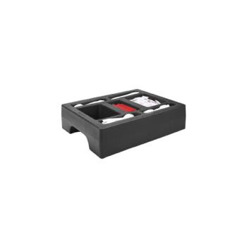 CAMLCDCH10110 - Cambro - LCDCH10 - Camtainer 20 in X 16 in Black Condiment Holder Product Image