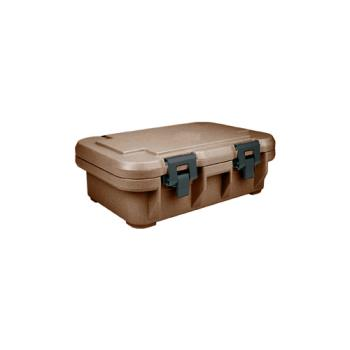 CAMUPCS140131 - Cambro - UPCS140 - Camcarrier Full Size 4 in Deep Brown Pan Carrier Product Image