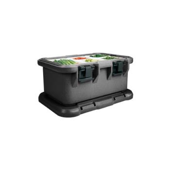 CAMUPCS160110 - Cambro - UPCS160 - Camcarrier Full Size 6 in Deep Black Pan Carrier Product Image