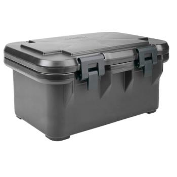CAMUPCS180110 - Cambro - UPCS180 - Camcarrier Full Size 8 in Deep Black Pan Carrier Product Image