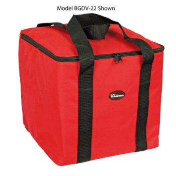WINBGDV12 - Winco - BGDV-12 - 12 in x 12 in Pizza Delivery Bag Product Image