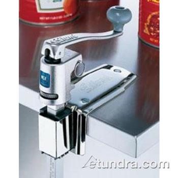 EDLU12L - Edlund - U-12L - Quick Change Manual Can Opener with Bar and Plated Steel Base Product Image