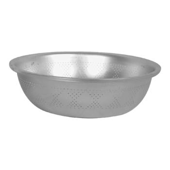 THGALSB009 - Thunder Group - ALSB009 - 8 1/2 in Aluminum Asian Colander Product Image