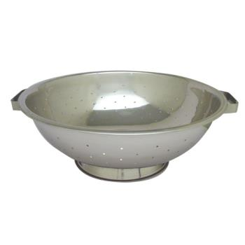 78147 - Winco - COD-14 - 16 1/2 in Stainless Steel Colander Product Image