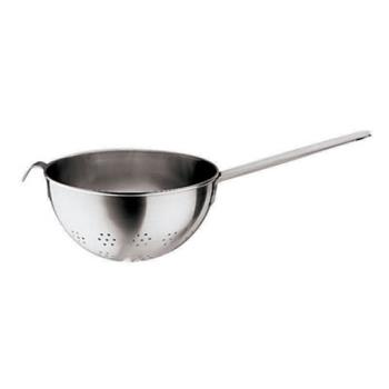 "WOR1192622 - World Cuisine - 11926-22 - 8 5/8"" x 4 3/4"" Stainless Colander Product Image"