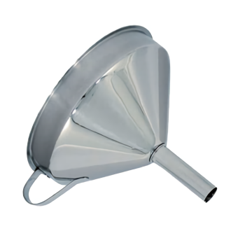 58487 - Update - FSV-6S - 5 3/4 in Stainless Steel Funnel Product Image