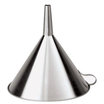 WOR4256220 - World Cuisine - 42562-20 - 7 7/8 in Stainless Steel Funnel Product Image