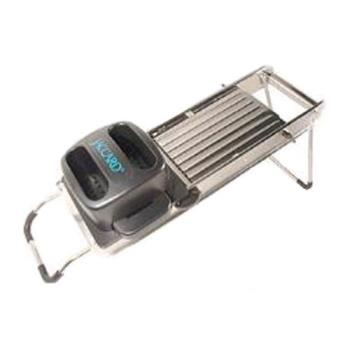 59167 - Jaccard - 200441 - Safe Hands Stainless Steel Mandoline Product Image