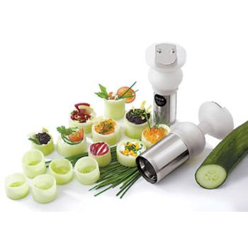 "WOR4828505 - World Cuisine - 48285-05 - 2"" Cylinder Vegetable Cutter Product Image"