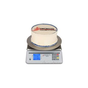 DETRP30R - Detecto - RP30R - Round Rotating Ingredient Scale Product Image