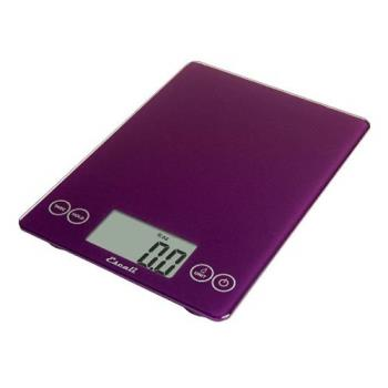 ESC157DP - Escali Scales - SCDG15PRR - 15 lb Purple Arti Glass Digital Scale Product Image