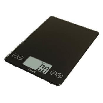ESC157IB - Escali Scales - SCDG15BK - 15 lb Black Arti Glass Digital Scale Product Image
