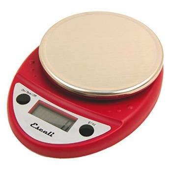 ESCP115PLWR - Escali Scales - SCDGP11RD - 11 lb Primo Digital Scale Product Image